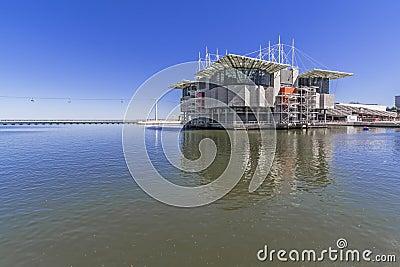 Oceanario de Lisboa / Oceanarium - Lisbon Editorial Image
