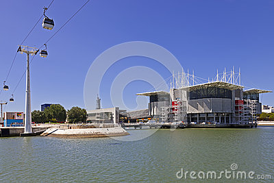 Oceanario de Lisboa / Oceanarium - Lisbon Editorial Photo