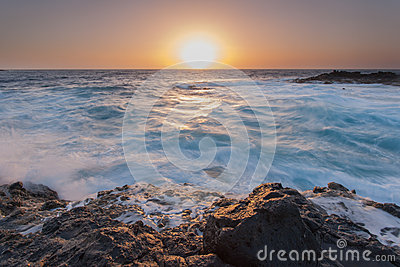 Oceanic sunrise