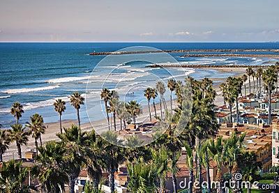 Oceanside Shoreline, California