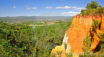 Ocher Quarries,Roussillon,Provence