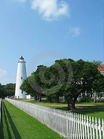 Ocracoke Leuchtturm