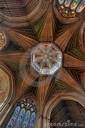 Free Octagon Tower, Ely Cathedral Royalty Free Stock Images - 23879359