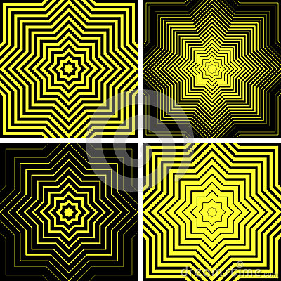 Free Octagons Shapes. Abstract Backgrounds Set. Stock Photo - 42552370
