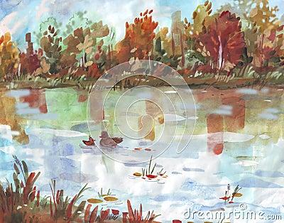 OCTOBER LAKE