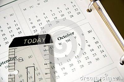 October on planner
