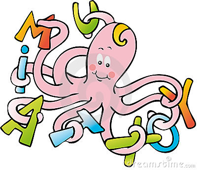 Octopus letters