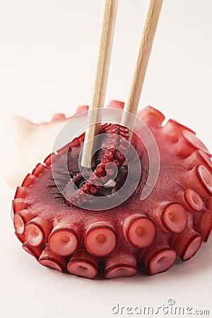 Octopus sushi chopsticks