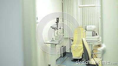 Oczny laboratorium, gabinet zbiory wideo