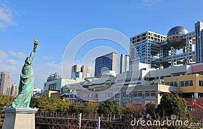 Odaiba district, Tokyo Editorial Photo