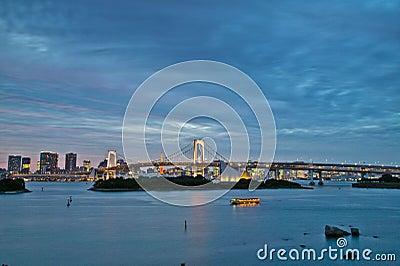 Odaiba Rainbow Bridge Tokyo
