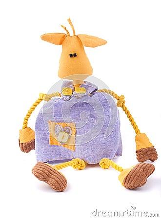 Odd cow toy