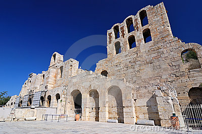 The Odeon of Herodes Atticus theatre, Athens