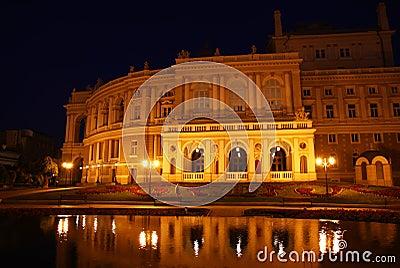 Odessa National Opera Theatre.