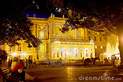 Odessa Opera and Ballet Theater Editorial Photo