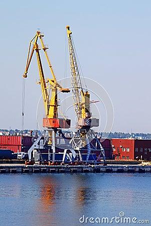 Odessa seaport, Ukraine