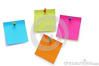 Odizolowywać majcher notatki