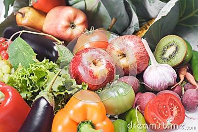 Odosobneni owoc warzywa