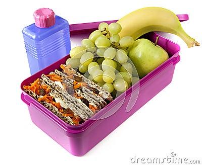 Odżywczy pudełkowaty lunch
