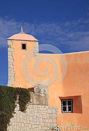 Oeiras Saint John s fortress turret