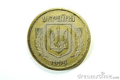 Oekraïens muntstuk Hryvnia