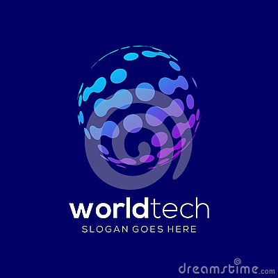 Free Of Technology Unique Logo Template Royalty Free Stock Photos - 136940078