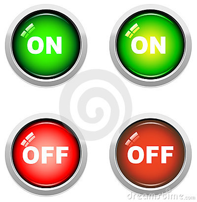 On / Off Buttons
