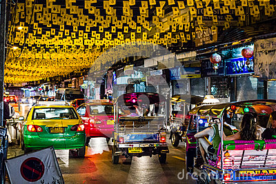 Off Khaosan Road Editorial Stock Image
