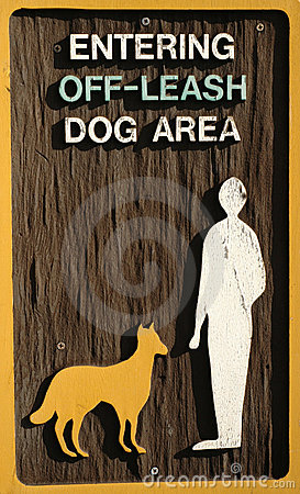 Off-leash dog area