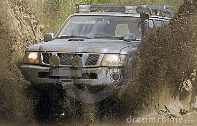 Off road action