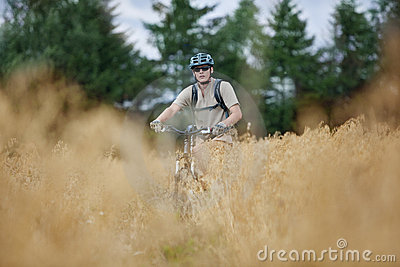 Off road biking adventure