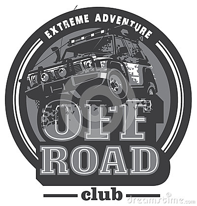 Free Off-road Car Logo, Safari Suv, Expedition Offroader. Stock Image - 86104481