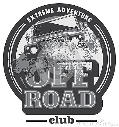 Free Off-road Car Logo, Safari Suv, Expedition Offroader. Stock Image - 86104521