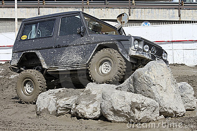 Off-road exhibition Editorial Stock Image