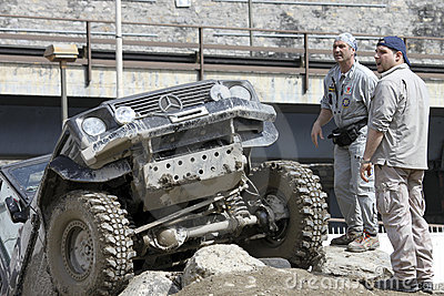 Off-road exhibition Editorial Photo