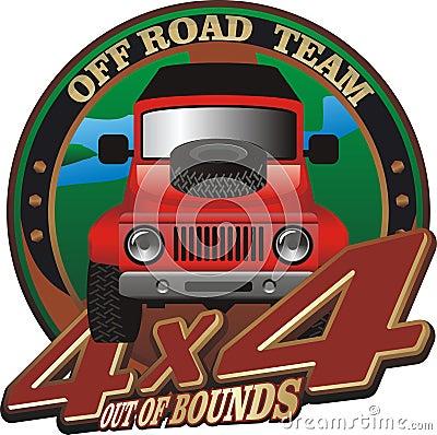 Off road emblem