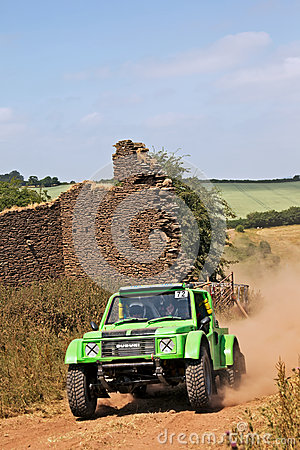 Off road motorsport Editorial Image