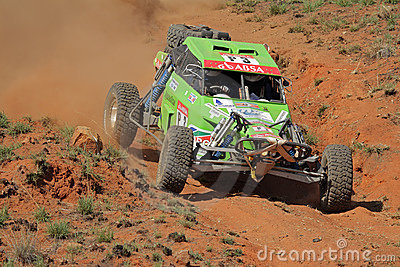 Off road racing Editorial Image