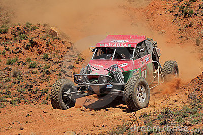 Off road racing Editorial Stock Image