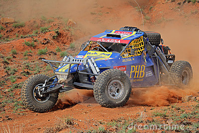 Off road racing Editorial Stock Photo