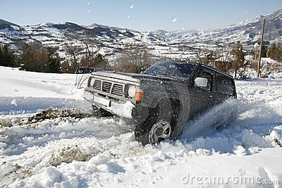 Off road snow