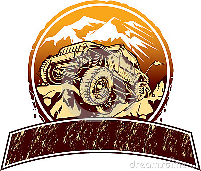 Off Road Vehicle Stock Vector Image 46522935