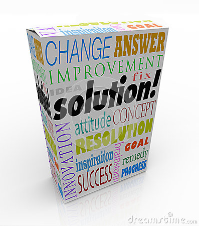 Off the Shelf Solution Product Box New Idea Answer