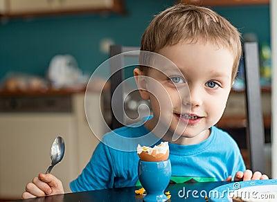 Offended little boy refuses to eat dinner
