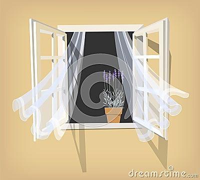 offenes fenster gezeichnet haus deko ideen. Black Bedroom Furniture Sets. Home Design Ideas