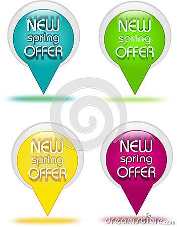 Offer buttons