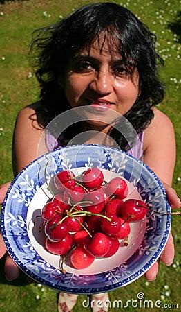 Offering Cherries