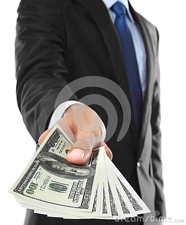 Free Offering Money Royalty Free Stock Image - 25569846