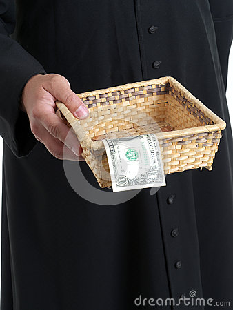 Offertory Stock Photo