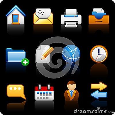 Office_black background